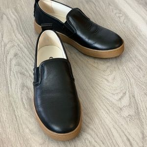 COACH Leather Slip-On Shoe